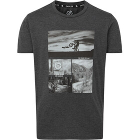 Dare 2b Go Beyond T-Shirt Kinder charcoal grey marl